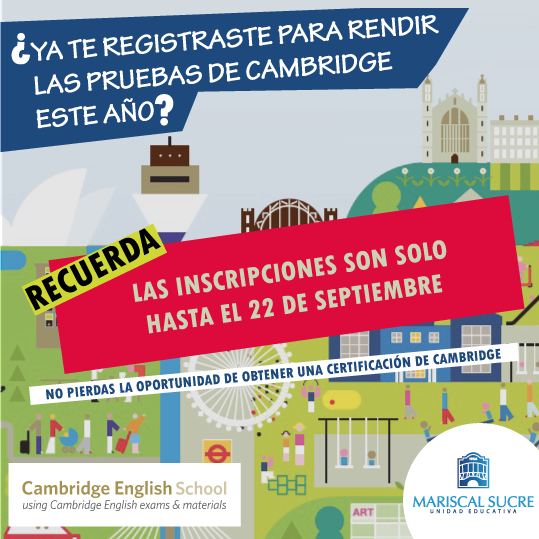 Certificaciones de Suficiencia en Inglés Cambridge
